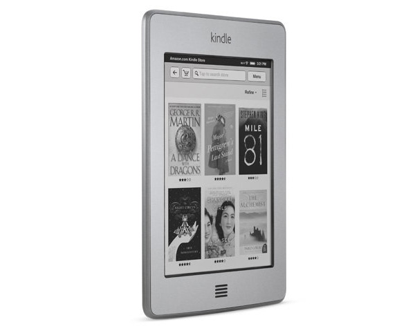 The Amazon Kindle Touch