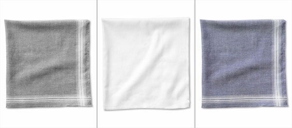 Banana Republic's Mad Men Collection: Cotton Pocket Squares