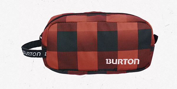 Burton's Plaid Accessory Cases