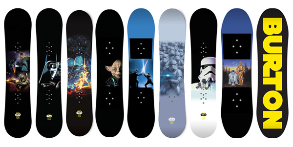 Burton Star Wars Snowboards