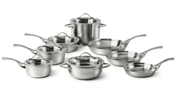 Calphalon Contemporary Stainless Cookware Set