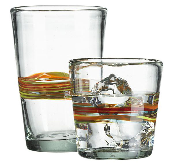 Granada Drinking Glasses from Crate&Barrel