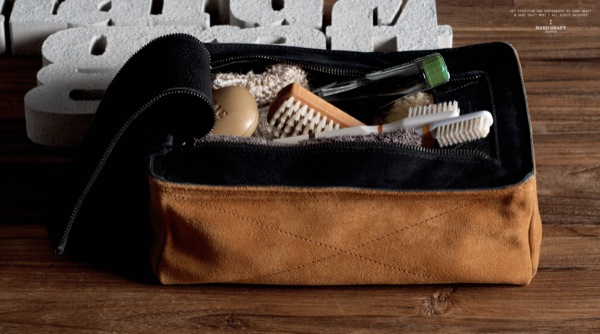 Hard Graft's DOPP kit Campfire Bag