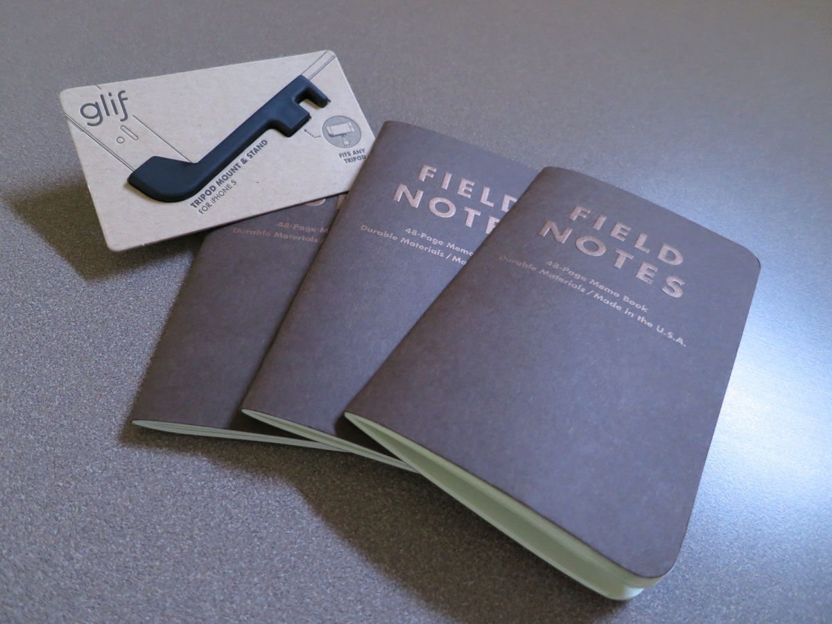 We're Giving Away a Glif and a Pack of Field Notes