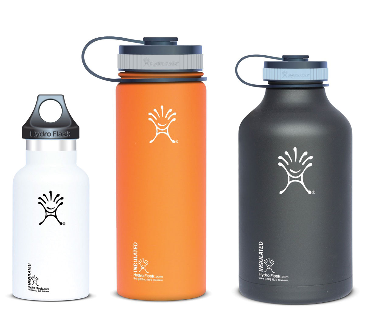 Hydro Flask: Double-Walled Steel Water Bottles