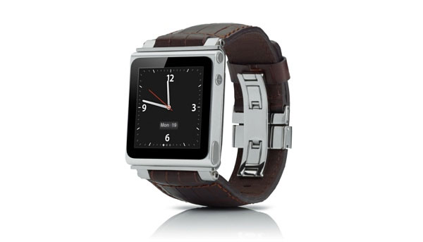 iWatchz Timepiece Collection Leather Watch Band for iPod nano