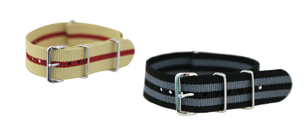 James Bond NATO Watch Straps