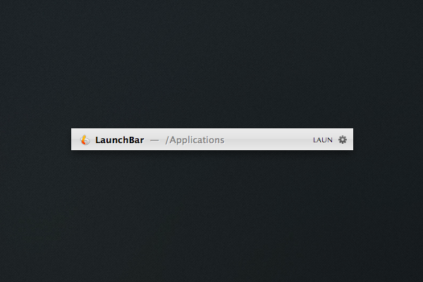 LaunchBar 5: Application Launcher for OS X