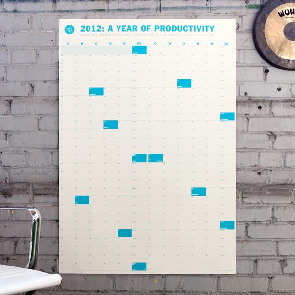 Neu Year 2012 Calendar