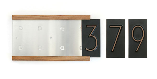 Neutra Typeface House Numbers