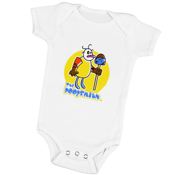"""The Poopsmith"" Baby Onesie"