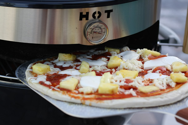 KettlePizza Add-On For Your Weber Grill