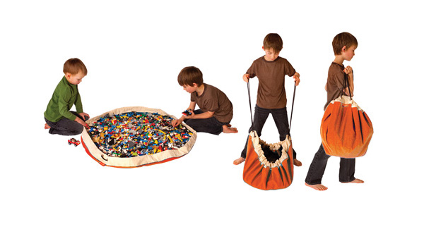Storage Bag & Play Mat-in-One